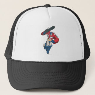 Optimus 4 trucker hat