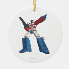 Optimus 5 Ceramic Ornament at Zazzle