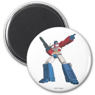 Optimus 5 imán redondo 5 cm