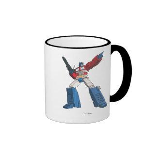 Optimus 5 taza de dos colores