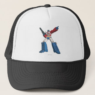 Optimus 5 trucker hat