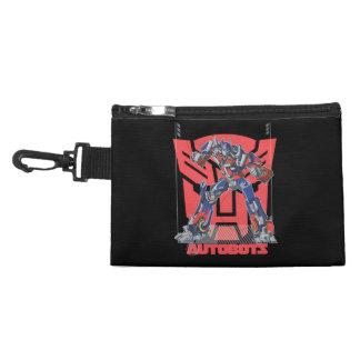Optimus Autobot Shield Badge Accessory Bag