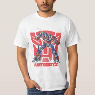 Optimus Autobot Shield Badge T Shirt