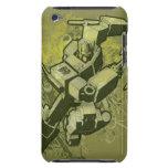 Optimus - explosión frondosa 2 funda para iPod de Case-Mate