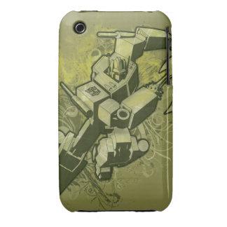 Optimus - Leafy Burst 2 iPhone 3 Case-Mate Case