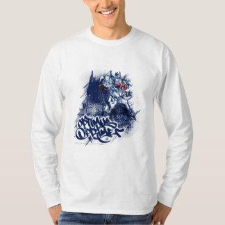 Optimus Prime Blue Graffiti Shirt
