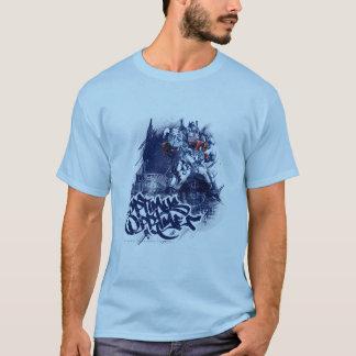 Optimus Prime Blue Graffiti T-Shirt