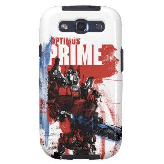Optimus Prime Brush Strokes Galaxy SIII Cover