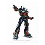 Optimus Prime CGI 1 Postcard