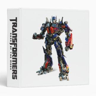 Optimus Prime CGI 2 3 Ring Binder