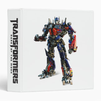 Optimus Prime CGI 2 Vinyl Binders