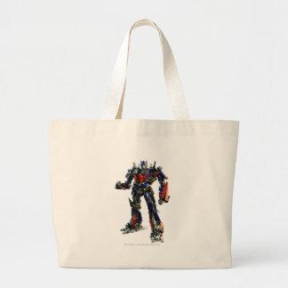 Optimus Prime CGI 2 Large Tote Bag