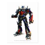 Optimus Prime CGI 2 Postcard