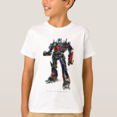 Optimus Prime CGI 2 T-Shirt at Zazzle