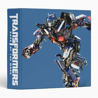 Optimus Prime CGI 3 3 Ring Binder