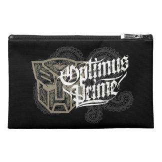 Optimus Prime Decorative Badge Travel Accessory Bag