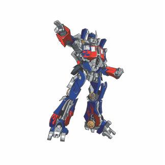 Optimus Prime Line Art 1 Statuette