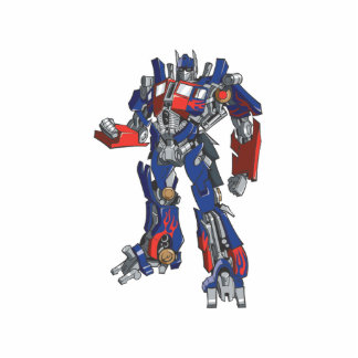 Optimus Prime Line Art 2 Statuette