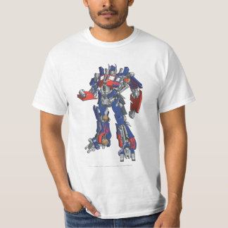 Optimus Prime Line Art 2 T-Shirt