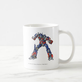 Optimus Prime Line Art 3 Coffee Mug