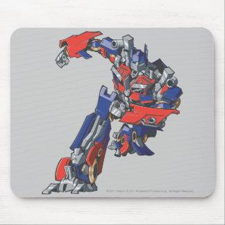 Optimus Prime Line Art 4 Mouse Pad
