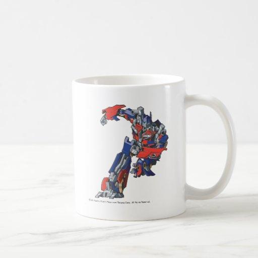 Optimus Prime Line Art 4 Mug