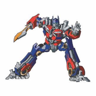 Optimus Prime Line Art 5 Cutout