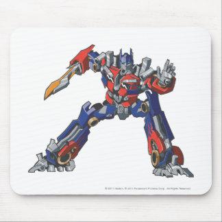 Optimus Prime Line Art 5 Mouse Pad