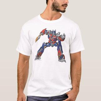 Optimus Prime Line Art 5 T-Shirt