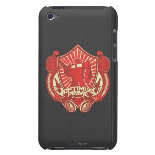 Optimus Prime - Mask and Weaponry iPod Touch Cases