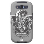 Optimus Prime Metal Badge 2 Samsung Galaxy SIII Covers