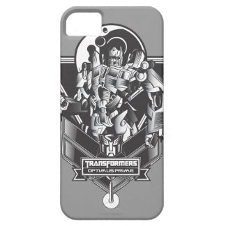 Optimus Prime Metal Badge 2 iPhone 5 Case
