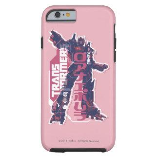 Optimus Prime Pink Badge Tough iPhone 6 Case
