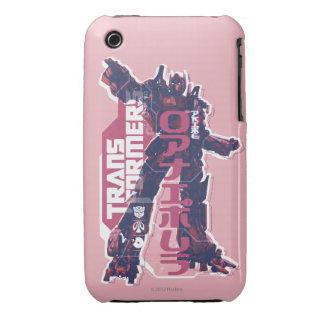 Optimus Prime Pink Badge Case-Mate iPhone 3 Cases
