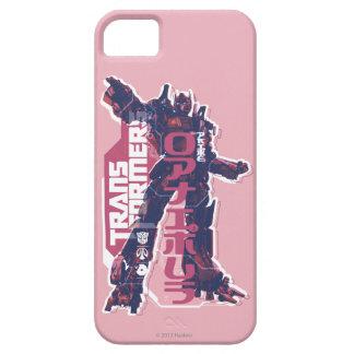 Optimus Prime Pink Badge iPhone 5 Cases