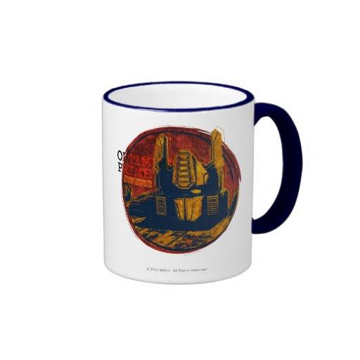 Optimus Prime Ringer Mug