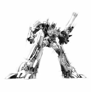 Optimus Prime Sketch 1 Cutout