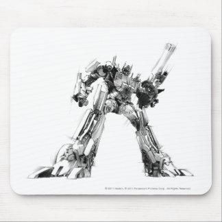 Optimus Prime Sketch 1 Mouse Pad
