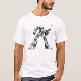 Optimus Prime Sketch 1 T-Shirt