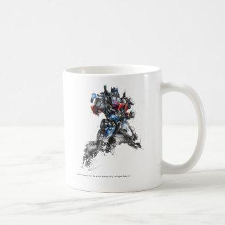 Optimus Prime Sketch 2.5 Classic White Coffee Mug