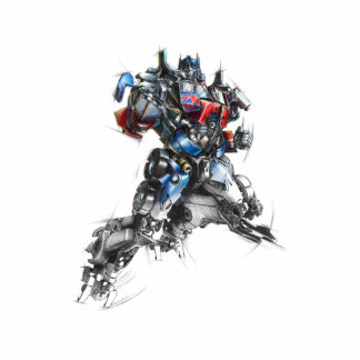 Optimus Prime Sketch 2.5 Cutout