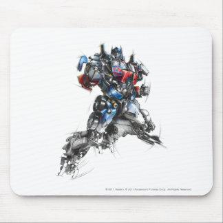 Optimus Prime Sketch 2.5 Mouse Pad