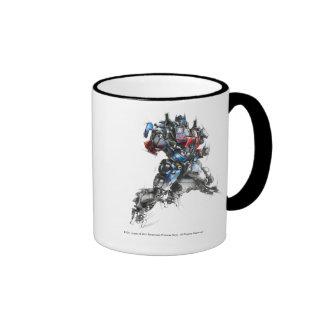 Optimus Prime Sketch 2.5 Ringer Mug
