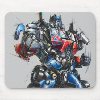 Optimus Prime Sketch 2 Mouse Pad