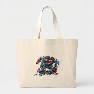 Optimus Prime Sketch 3 Large Tote Bag