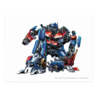 Optimus Prime Sketch 3 Postcard