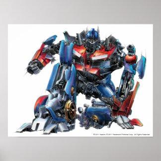 Optimus Prime Sketch 3 Poster