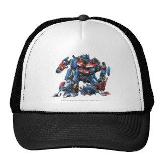 Optimus Prime Sketch 3 Trucker Hat