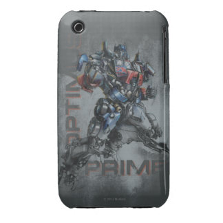 Optimus Prime Stylized Sketch iPhone 3 Cover