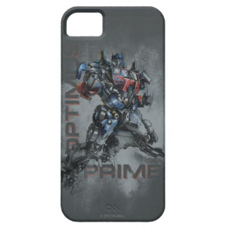 Optimus Prime Stylized Sketch iPhone 5 Cover